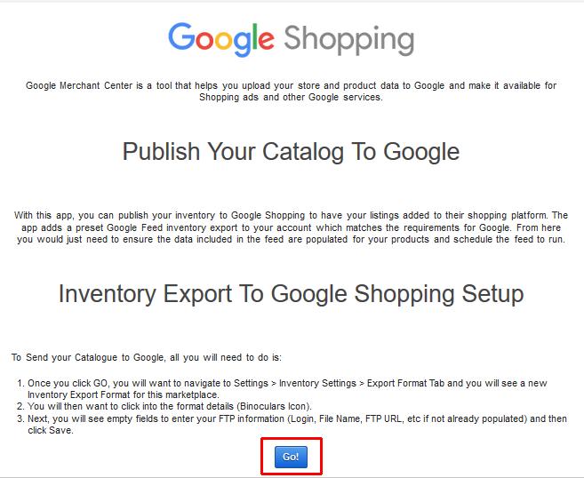 How do I connect ecomdash with Google Shopping? – ecomdash support